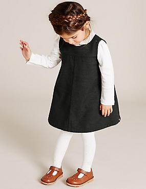 Girls Wool Blend Pinafore (3 Months - 5 Years)