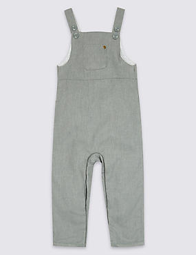 Dungarees with Wool