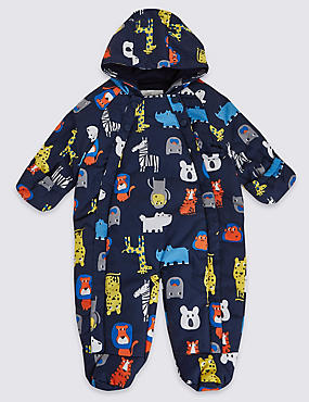 All Over Printed Long Sleeve Snowsuit