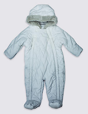 Long Sleeve Dip Dye Snowsuit