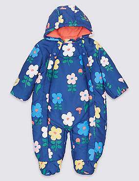 Flower Print Snowsuit with Stormwear™