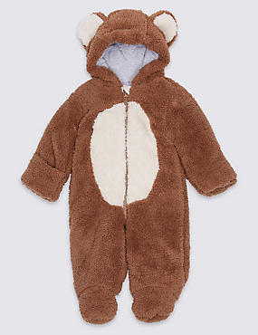 Monkey Long Sleeve Snowsuit