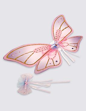 Fairy Wing & Wand Set, , catlanding