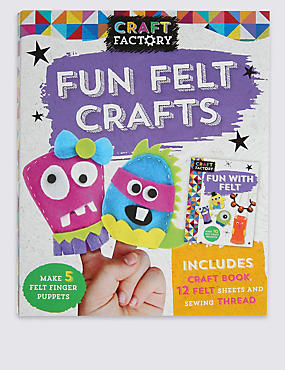 Craft Factory Fun Felt Crafts Finger Puppets