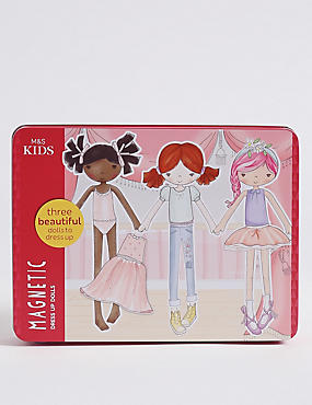 Magnetic Dress Up Tin