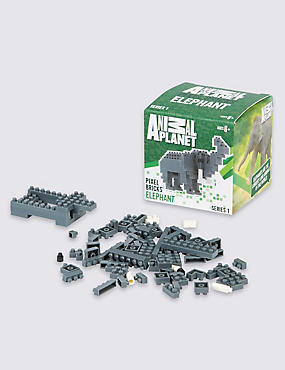 Elephant Pixel Bricks