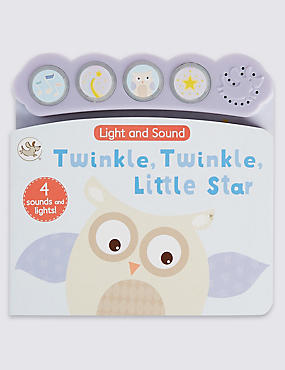Twinkle Twinkle Light & Sound Book