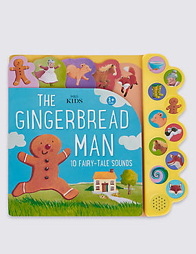 10 Button Sound Gingerbread Man