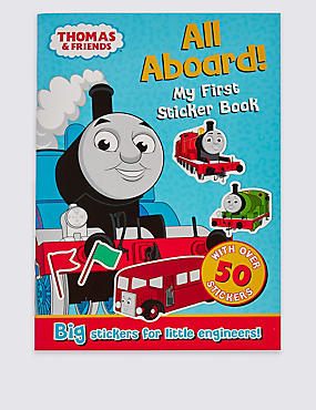 Thomas & Friends™ All Aboard My First Sticker Book