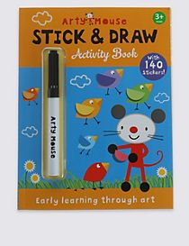 Arty Mouse Sticker Doodles Book