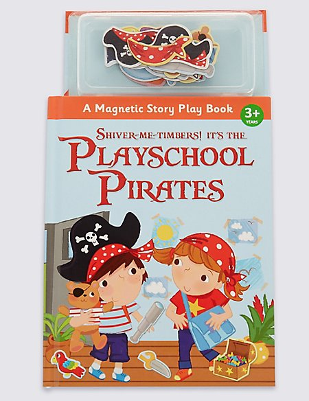 Magnetic Playschool Pirates Book