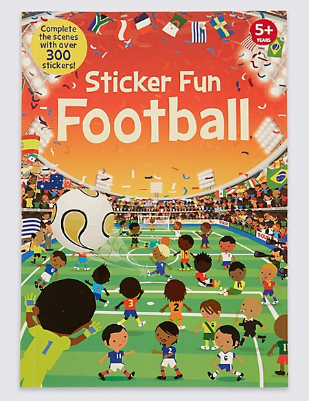 Sticker Football Book