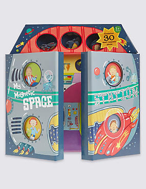 Magnetic Space Station Book