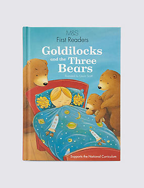 First Readers Goldilocks & The Three Bears Book