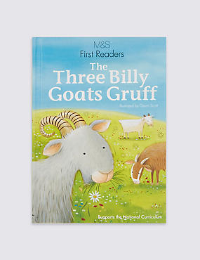 First Readers The Three Billy Goats Gruff Book
