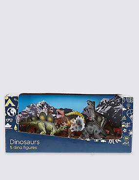 5 Pack of Dinosaurs