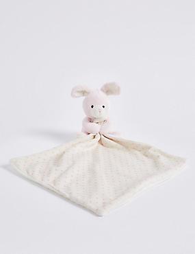 Bunny Comforter, , catlanding