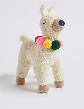 Llama Soft Toy, , catlanding