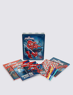 Spiderman Tin Book