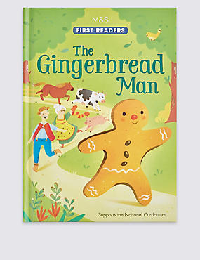 The Gingerbread Man Book, , catlanding