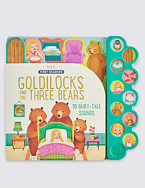Goldilocks & the Three Bears Sound Book, , catlanding