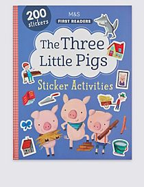 The Three Little Pigs Sticker Book