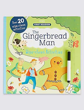 The Gingerbread Man Wipe-Clean Book, , catlanding