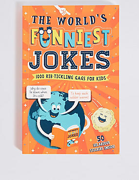 The World's Funniest Joke Book, , catlanding
