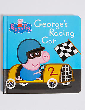 Peppa Pig™ George's Racing Car Book, , catlanding