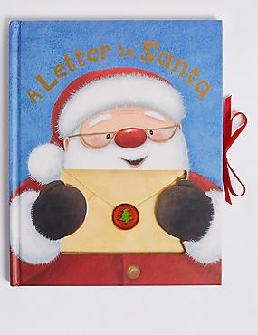 Letter to Santa Book