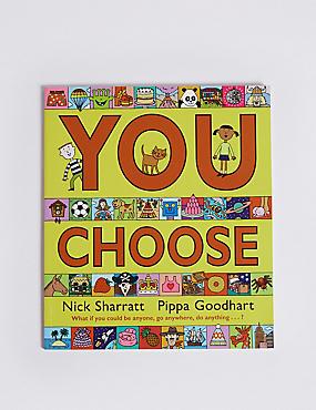 You Choose Book, , catlanding