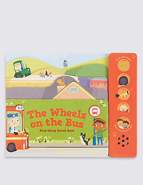The Wheels on the Bus Sound Book, , catlanding