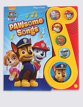 Little Musical Note Paw Patrol Book