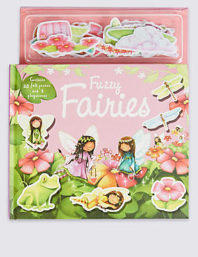 Fuzzy Fairies Book, , catlanding