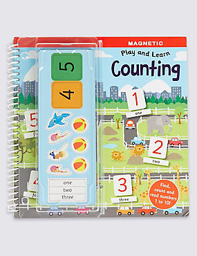 Magnetic Play & Learn Counting Book