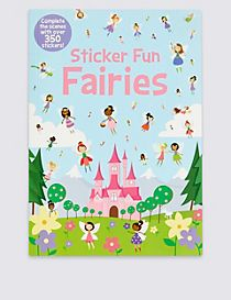 Sticker Fun Fairies Book