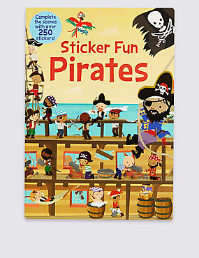 Sticker Fun Pirates Book