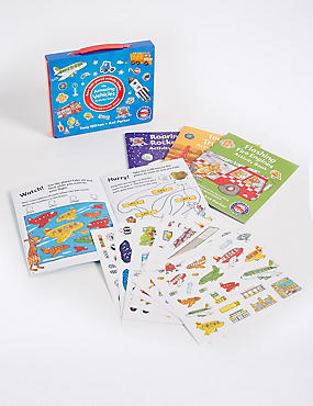 My Amazing Vehicles Activity Case Books