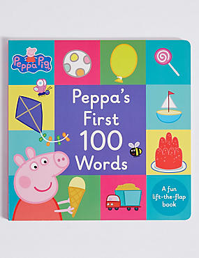 Peppa Pig™ First 100 Words Book, , catlanding