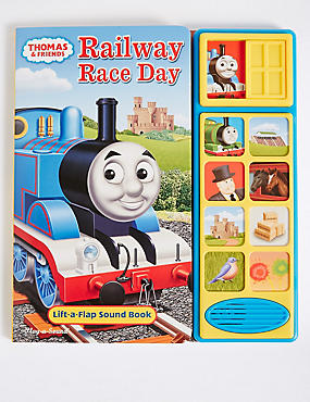 Thomas & Friends™ Railway Race Day Sound Book, , catlanding