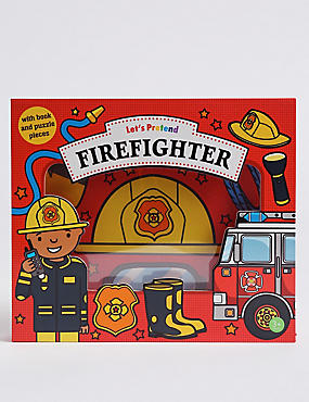 Let's Pretend Firefighter Book