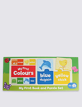 My First Book & Puzzle Set
