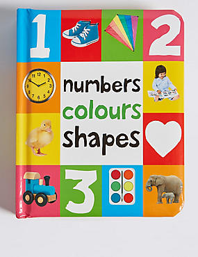 Numbers, Colours & Shapes