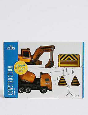 Construction Vehicle Play Set, , catlanding