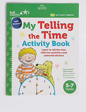 My Telling the Time Activity Book, , catlanding