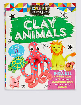 Craft Factory Clay Animals, , catlanding