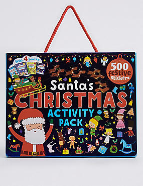 Santa's Christmas Activity Pack