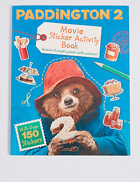paddington 2 movie sticker activity books
