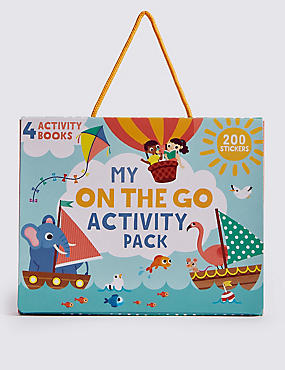My On The Go Activity Pack, , catlanding