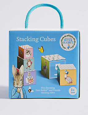 Peter Rabbit™ Stacking Cubes, , catlanding